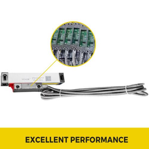 50MM Linear Skala Drehen-Fräsen Maschine Optischer Längenmessgeber mit 3m Kabel