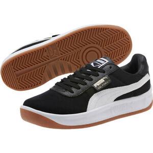 cicatriz vacío Instrumento  Zapatillas para hombre gamuza Nuevo Puma California Negro/Blanco 366608-06  Sz 10 SKU | eBay