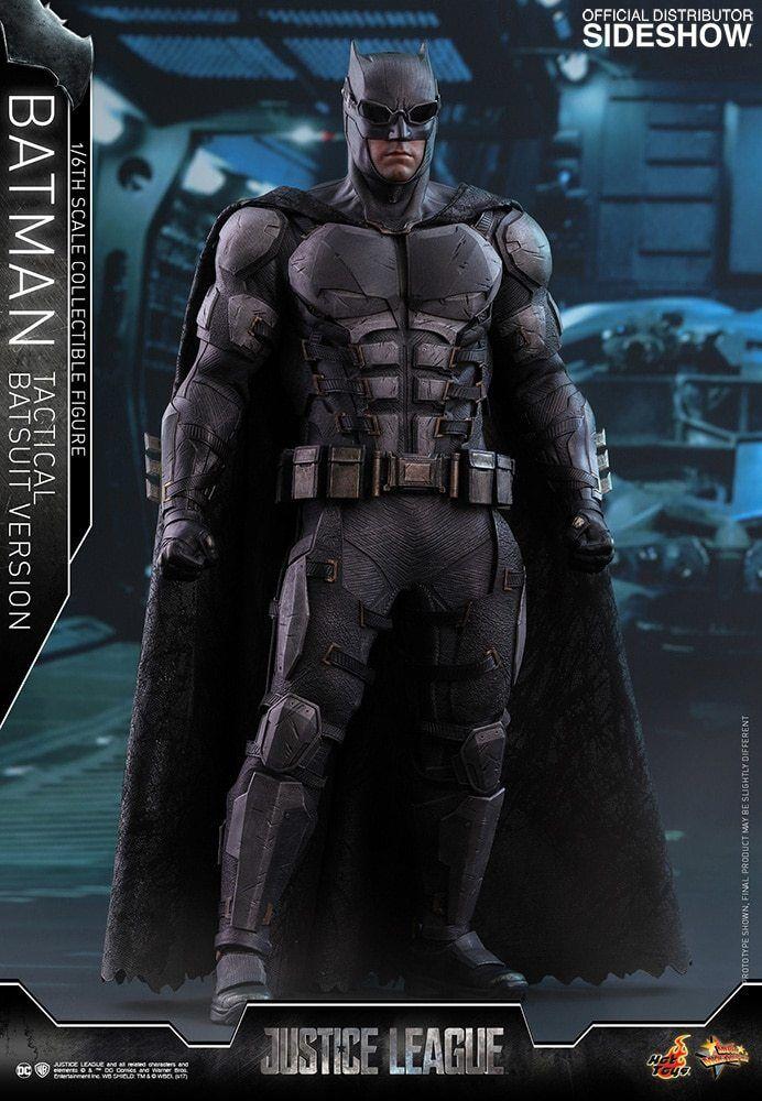 HOT HOT HOT TOYS Batman Tactical Batsuit Version Justice League 1 6 Scale Figure NEW    dac78c
