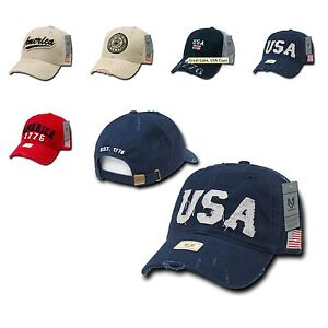 Details about 1 Dozen USA Flag Vintage America American Distressed Baseball  Cap Caps Hat Hats c5a2d38f17d