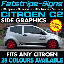 CITROEN C2 GRAPHICS CAR VINYL STRIPES DECALS STICKERS VTR VTS 1.1 1.4 1.6 GT
