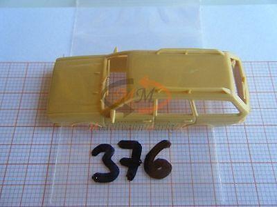 2 x ALBEDO Ersatzteil Ladegut Deichsel schwarz für Anhänger H0 1:87-0322