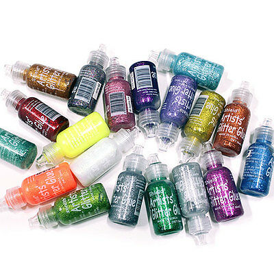 Face Body Paint Artist Glitter Gel Shield Make Up Halloween Party 36ml 21 Colors