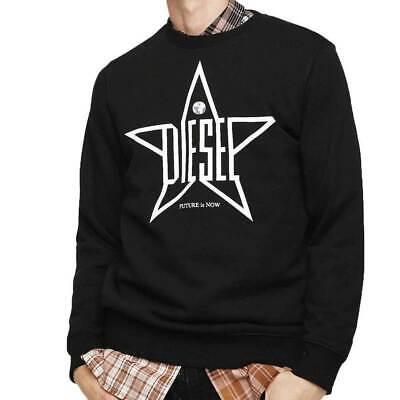 Diesel Mens S-Gir-YA Crew Neck Sweatshirt