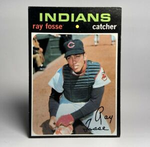 1971-Topps-Ray-Fosse-125-Cleveland-Indians-NM