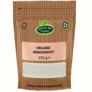 Organic Arrowroot Powder 250g Certified Organic