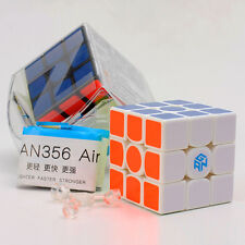 White Gans III No.3 356 3x3x3 Magic Cube GAN356 Air Advanced Version Ganspuzzle