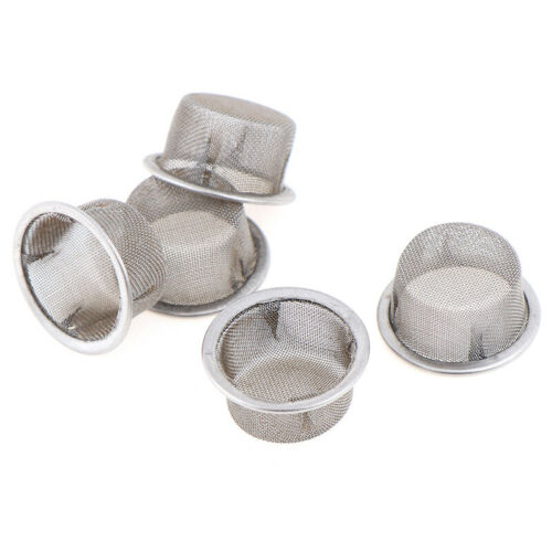 5pcs Tobacco Pipe Stainless Steel Screens for Crystal Pipe Smoking 13MM FiWYYNS