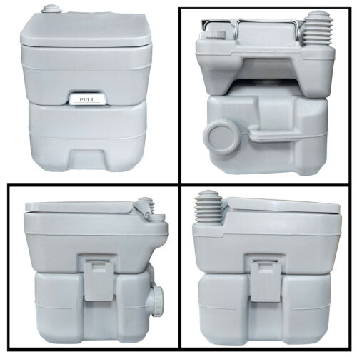 5 Gal 20 L Toilettes Portable Chasse Voyage Camping Outdoor//Indoor pot commode environ 18.93 L