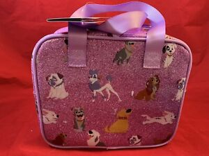 Disney ~ Dogs lunch box  New With Tags