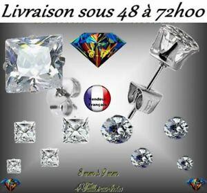 BOUCLE-D-039-OREILLE-HOMME-FEMME-ACIER-316L-ZIRCON-4-TAILLES-ZIRCONIUM-BLANC-ARGENT