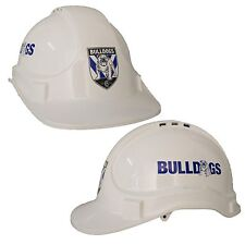 Canterbury Bulldogs NRL Light Weight Vented Safety Hard Hat Work Man Cave Gift