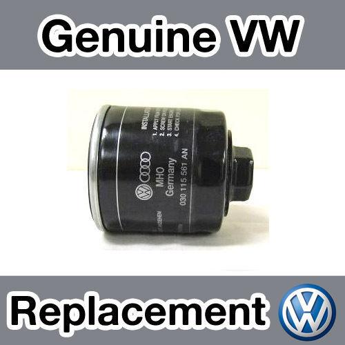 Genuine Volkswagen Polo MKV 1.4 16 V 9N Filtre à huile 02-05