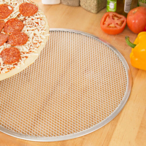 "16/"" Aluminum Seamless Pizza Screen"