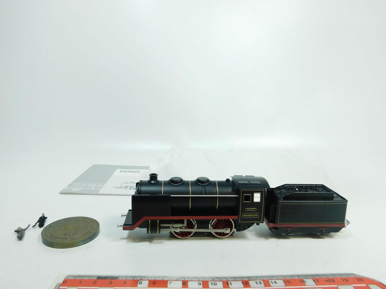 Bh140-1Märklin h0 ac locomotora a vapor 00-50 d (de set 0050), muy bien