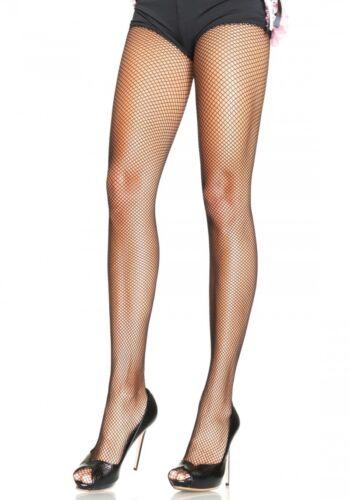 XXL Netzstrumpfhose Leg Avenue- 9001Q Schwarz Gr.L Damenstrumpfhose