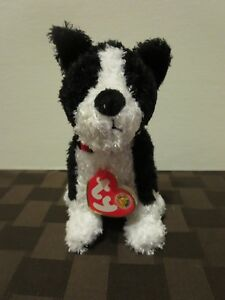 Mint w// Tag 2006 PE Pellets Ty Beanie Babies Barklowe the Dog of the month