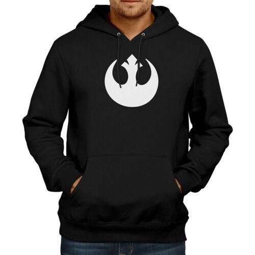 Star Wars Rebel Alliance Galactic Republic Jedi Fleece Sweater Pullover Hoodie
