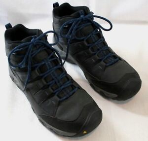 d1963edcee7 Details about Mens Keen Hiking Boots Oakridge Mid Polar Waterproof Cold  Weather US 11 D Med