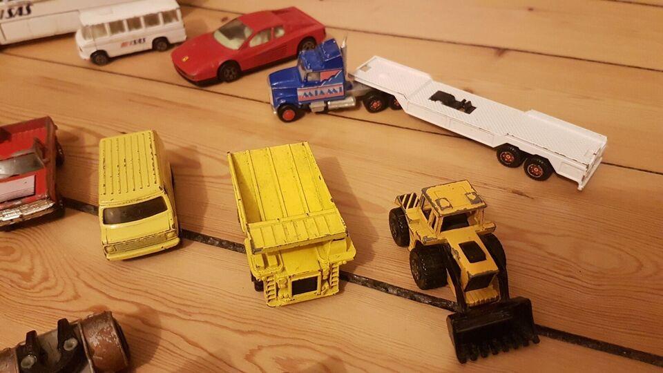 Legetøjsbiler, Matchbox, Corgi