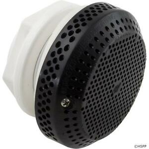 Spa Suction Wall Fitting Assembly Waterway Black 640-3251V VGB Compliant