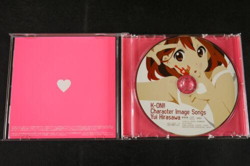 """Character Image Songs /""""Yui Hirasawa/"""" JAPAN CD K-On"""