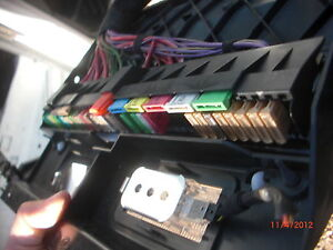 on 530i fuse box