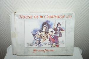 MAQUETTE-a-call-to-arms-infanterie-royalist-HOUSE-of-CAMPAIGN-MODEL-KIT-neuf