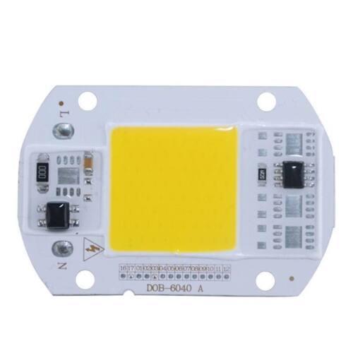 30 50W Lamp IC Treiber LED Glühbirne COB Chip 110V 220V Eingang Integrated20