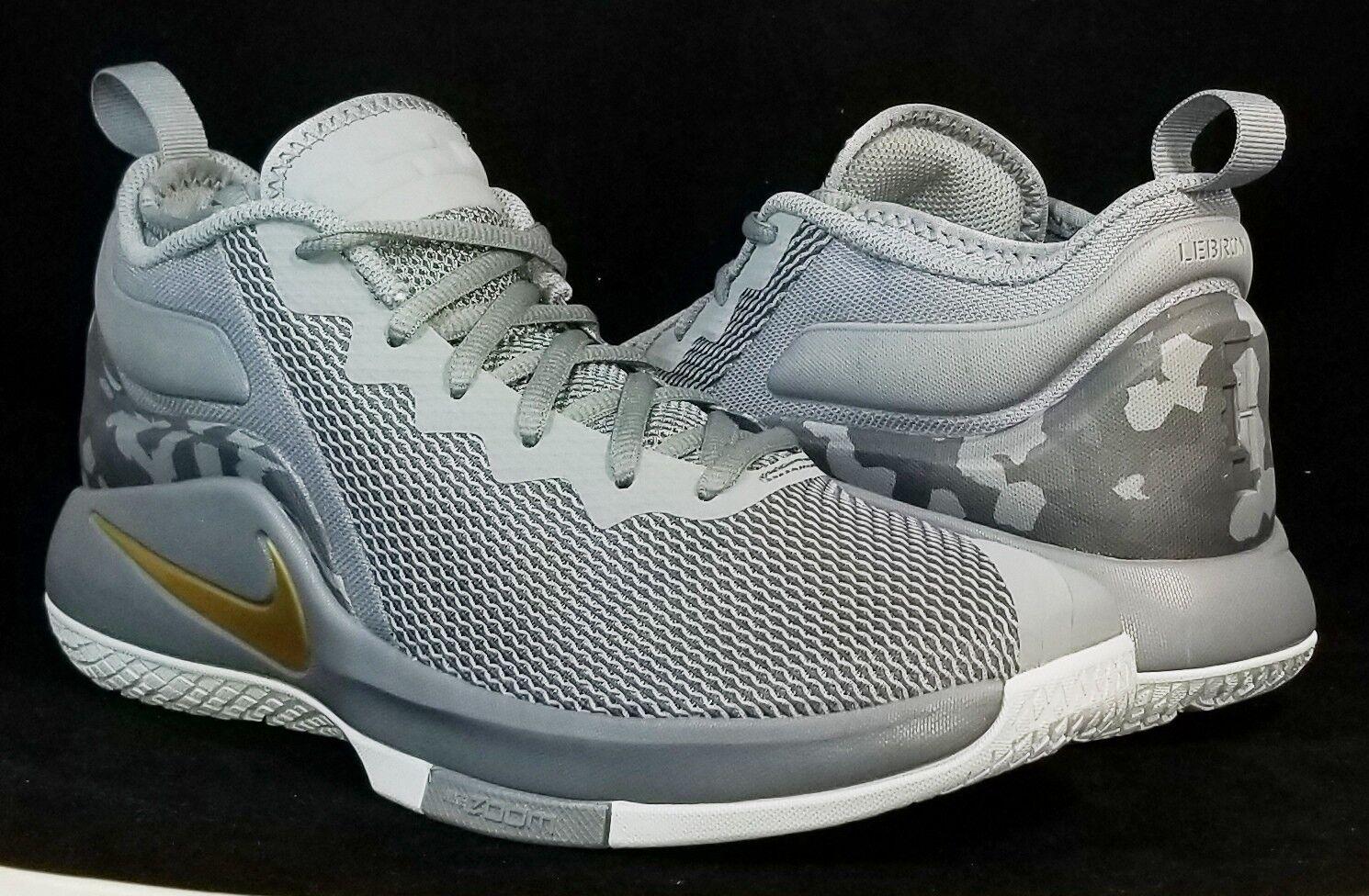 NIB Nike Hombre 10 LeBron testigo II 942518 009 oro oro 009 gris, zapatos de baloncesto de reducción de precios nuevos zapatos para hombres y mujeres, el limitado tiempo de descuento 2b66d2