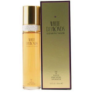 White-Diamonds-by-Elizabeth-Taylor-3-3-oz-100-ml-EDT-Perfume-For-Women-BRAND-NEW