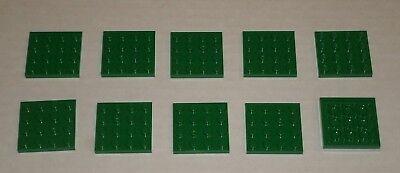 Lego 10x Tan Plate 4 x 4 NEW