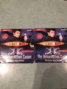 Audio-CD-Doctor-Who-The-Resurrection-Casket-Parts-1-amp-2-BBC-Audio