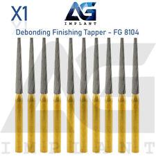 Fg 8104 Debonding Finishing Tapper Carbide Burs Bits Surgical Dental Orthodontic