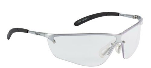 Bolle Silium CLEAR Lens Safety Eye Protector Glasses ANTI SCRATCH FOG