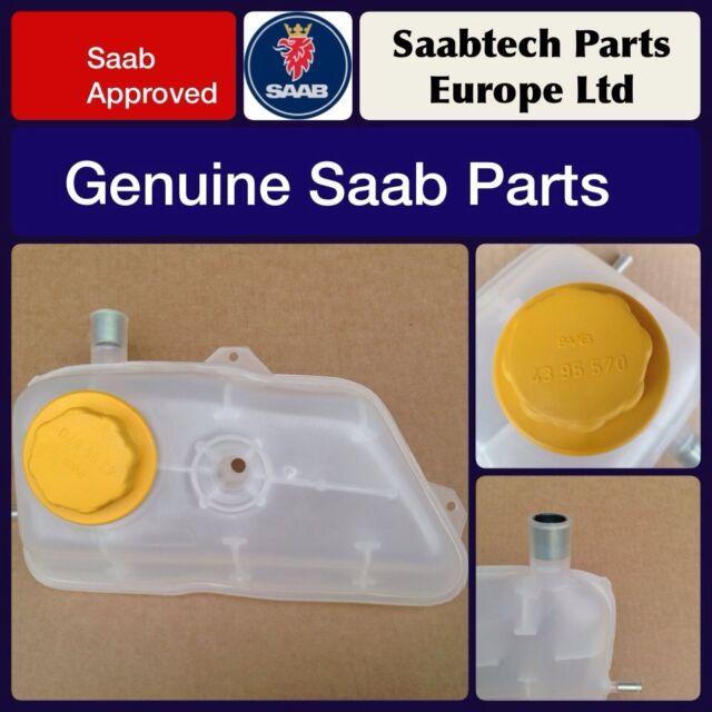 GENUINE SAAB CLASSIC 900 86-93 EXPANSION TANK & CAP - BRAND NEW - 7549876