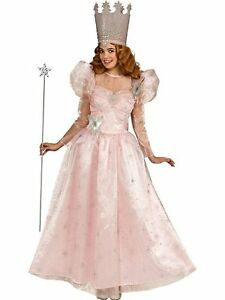 Adult Deluxe Glinda Wizard Of Oz Fairy Godmother the Good Witch ... 954babbf34