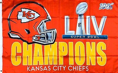 3X5 FT NFL Kansas City Chiefs Stars and Stripes Flag Banner USA FLAG
