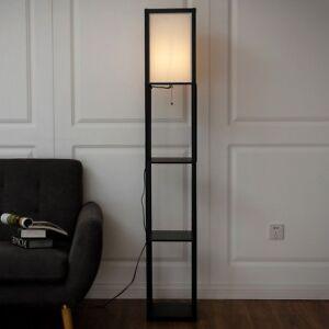 Image Is Loading Home Living Room Bedroom Shelf Floor Lamp Light