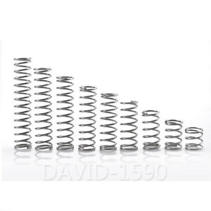 1-0mm-Wire-Dia-6mm-16mm-Outside-Dia-Compression-Spring-304-Stainless-Steel