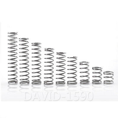 0.8mm Wire Dia 6-14mm Outside Dia Compression Spring 304 Stainless Steel
