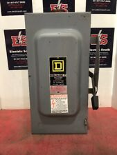 Square D Safety Switch D223n 100 Amp 240 Volt Fusible Disconnect