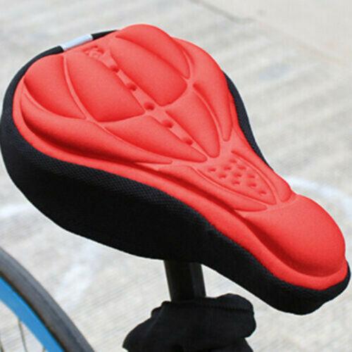 Extra Comfortable Bike Seat for Men Women Padded Bicycle Saddle Soft Cushion UK.