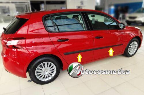 PROTEZIONE  PORTE FASCE PORTIERE IN PLASTICA DI COLORE NERO Peugeot 308