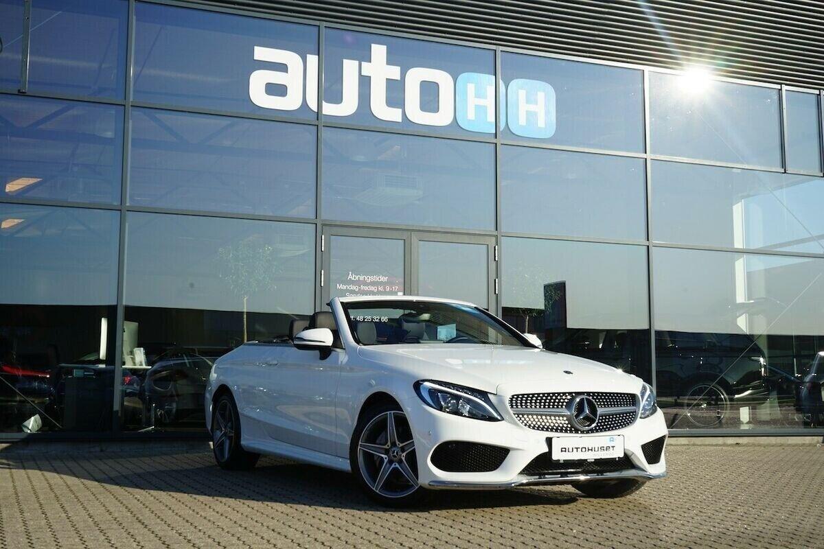 Mercedes C200 2,0 Cabriolet aut. 2d - 499.760 kr.