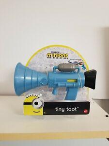 New Mattel Minions Tiny Toot Fart Sound Gun Blaster Prank Megaphone Gag Funny