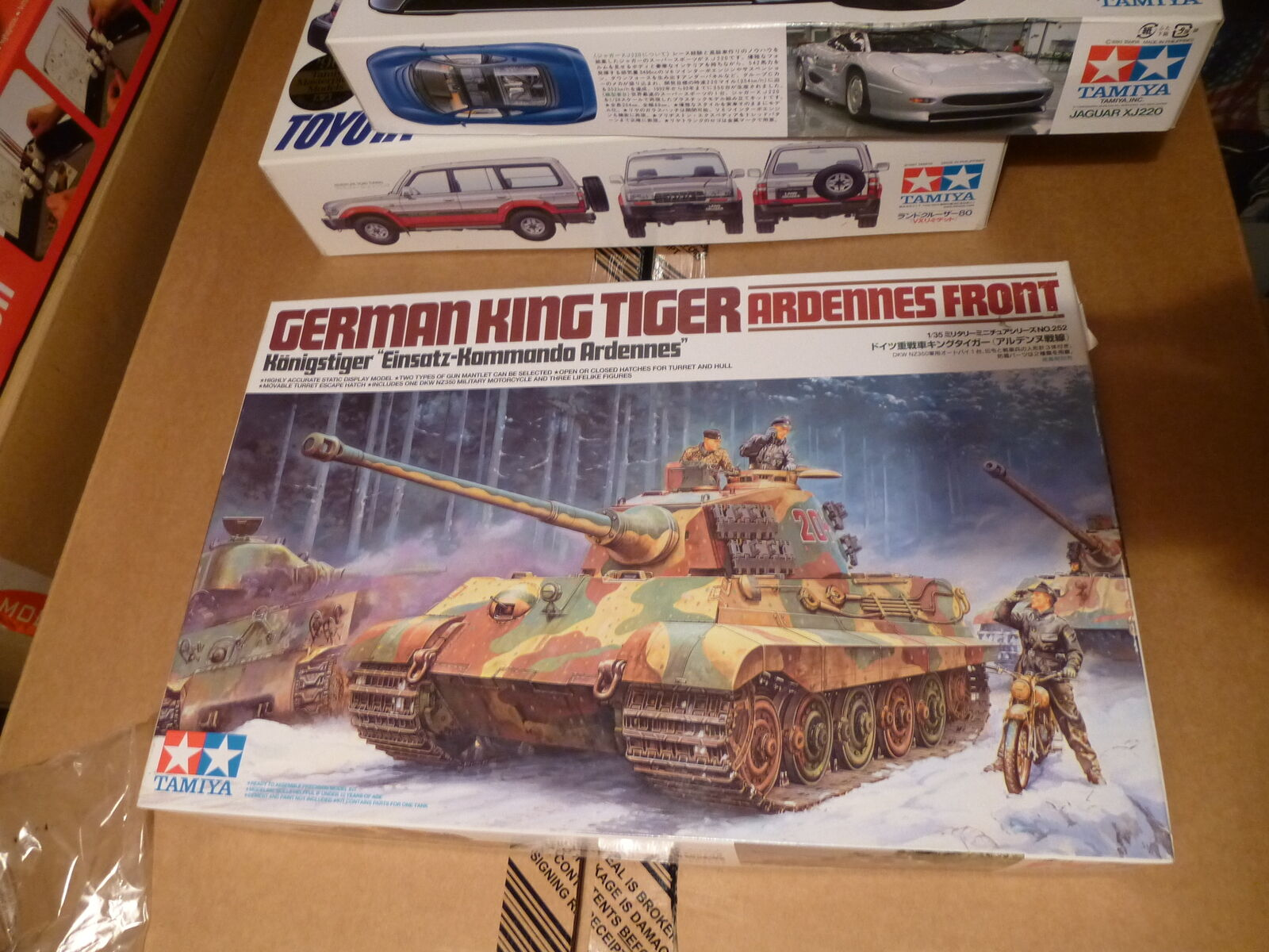 Tamiya 1 35 German King Tiger Ardennes Front
