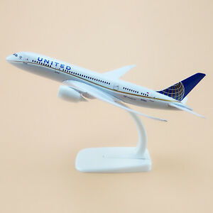 20cm Air United Airlines Boeing 787