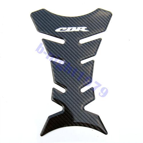 Carbon Fiber Tank Pad Sticker Decal Emblem Fit For Honda CBR400//1000//1100xx//750