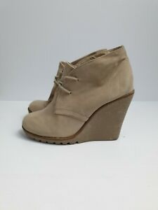 Naughty-Monkey-Women-039-s-Ankle-Wedge-Boots-Size-5
